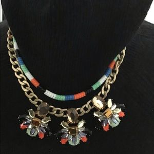 Stunning NWT J. crew statement necklace